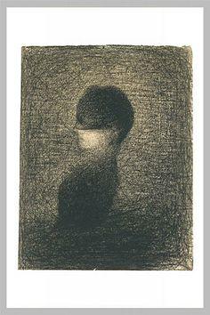 """Georges Seurat """"La voilette"""""""