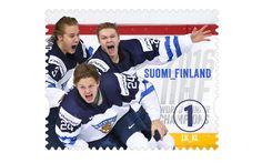 COLLECTORZPEDIA World Junior Hockey Championship 2016 World Junior Hockey, Sports Stars, Finland, Stamps, Poster, Seals, Postage Stamps, Stamp, Billboard