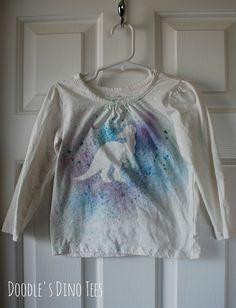 Cute dinosaur shirt for girls!