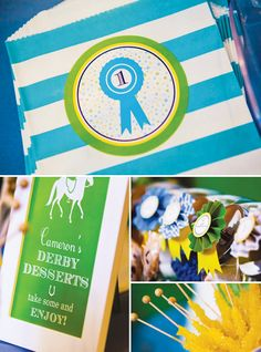 Preppy & Playful Dapper Derby First Birthday Party