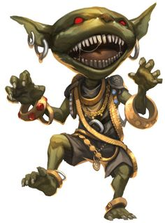 Tower of the Lonely GM: Little Encounters – The Goblin Curse (Goblin)