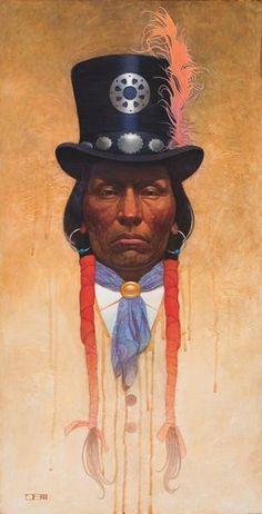 Native American Artwork, Native American Artists, American Indian Art, Thomas Blackshear, Top Paintings, Into The West, Guache, Popular Art, Indigenous Art