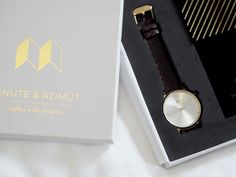A gorgeous new watch by Minute & Azimut. This brand new range of watches is available now by donating to the brands Kickstarter. See the watches close up. Watches, Accessories, Style, Swag, Wristwatches, Clocks, Outfits, Jewelry Accessories