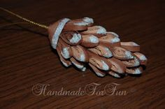 pine cone quilled