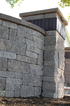 Napa Wall & Stoneledge Fire Pit in Mesquite Free Standing Wall, Seating Areas, Retaining Walls, Walkway, Columns, Fire, Patio, Outdoor, Beautiful