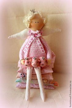 """Куклы Тильды ручной работы. Ярмарка Мастеров - ручная работа Тильда """"Принцесса на горошине"""" №2. Handmade."""
