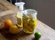 Lag din egen multispray med økologisk sitrus og eddik