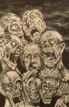 Surrounded by the Dead. By Anders Siggaard 2012