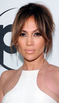 celebrity bangs famous fringes pony bangs and hair style