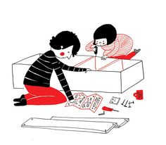 True love doesn't always consist of grand, cinematic gestures. In fact, it's often the little things that mean the most when you're in a long-term relationship. Spending a lazy morning together, helping each other get through a bad day, and even assembling furniture side-by-side can end up producing some amazing memories. Artist Philippa Rice designed a whimsical illustration book called Soppyto zero in on these little, love-filled moments. While creating her artistic publication, Rice…