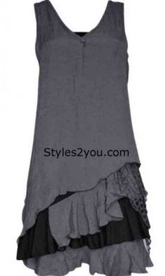 Pretty Angel Clothing Two Piece Knit Top In Gray