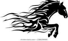 Find Horse Power Bust Abstract Flame stock images in HD and millions of other royalty-free stock photos, illustrations and vectors in the Shutterstock collection. Horse Drawings, Pencil Art Drawings, Horse Stencil, Horse Tattoo Design, Fire Horse, Motorcycle Paint Jobs, Bull Tattoos, Horse Logo, Horse Silhouette
