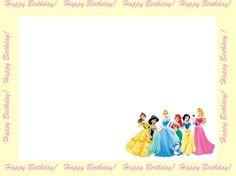 princess party invites free templates