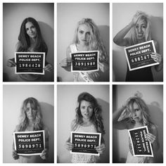 Bachelorette Party Mugshots