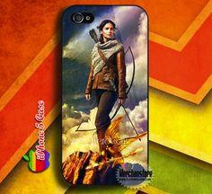 Katniss Everdeen The Hunger Games  Custom iPhone 5 Case Cover