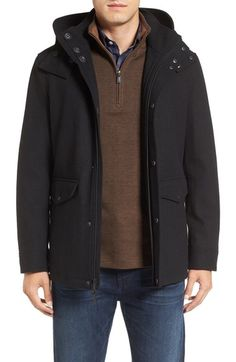 Cole Haan Hooded Waterproof Parka available at #Nordstrom