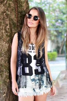 Rock pop  #look #rock #pop #fashion #loved