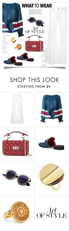 """""""My Mood Today"""" by lidia-solymosi ❤ liked on Polyvore featuring Sonia Rykiel, Vita Kin, Valentino, Dorateymur, Elizabeth and James, Chloé and Pierre Hardy"""