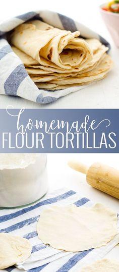 Homemade Flour Torti
