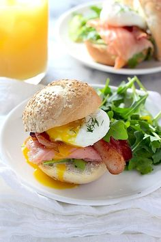 Ultimate Smoked Salmon Breakfast Sliders