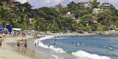 Sayulita is a sleepy little beach town 25 miles north of Puerto Vallarta along the Riviera Nayarit, a 200-mile stretch of the Pacific Coastline in Mexico. This small town is known for its relaxed hippy vibe, a rich Huichol artisan culture and a town square that is totally walkable.