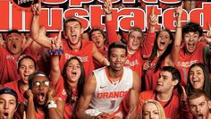 Syracuse Orangemen: Michael Carter-Williams and Ottos Army on the cover of Sports Illustrated.