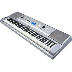 Yamaha DGX230 Portable Grand 76 Full Piano Style Keys, 489 Instrument Voics New