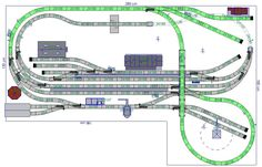 Gelungener Märklin Gleisplan von Pepe Link - H0 Modelleisenbahn