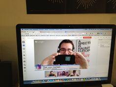 Ein netter Screenshot aus dem Crowdfunding-Interview mit @Denise Stanley auf @ununi.TV vor ein paar Wochen #cfew Interview, Google, Flat Screen, Couple, Blood Plasma, Flatscreen, Dish Display