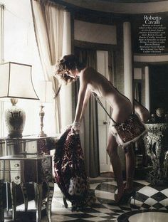 David Sims, Freja Beha Erichsen, IMG, Vogue Paris