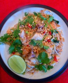 Pad Thai Talay (Seafood fried noodles)