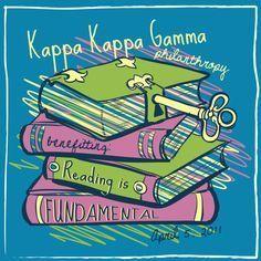 Kappa Kappa Gamma Reading is Fundamental