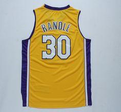 2014 New Arrival- Julius Randle #30 Yellow New REV 30 Basketball Jersey, Cheap Basketball Jerseys,Size: S-XXL Accept Mix Order