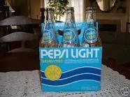 Pepsi light w/ lemon