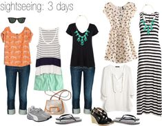 cardigan junkie: Reader Request: Packing Light for City and Beach Vacation