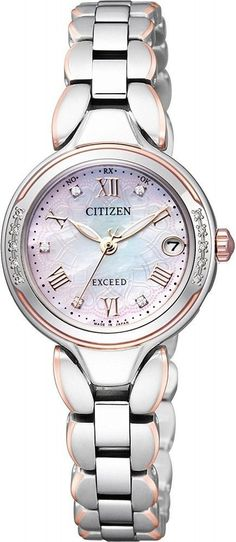 CITIZEN Watch Eco Drive Radio Limited Models ES8174-58A Women s from japan 24f02529b