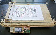 arduino android painting machine