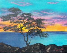 Check out this item in my Etsy shop https://www.etsy.com/listing/385927868/sunset-on-the-water