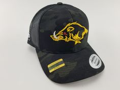 Custom Trucker Hat Richardson Wildland Firefighter Embroidery Design Cotton