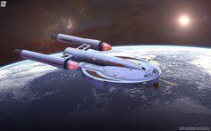 - Star Trek Archer Class Starship - free Star Trek computer desktop wallpaper…