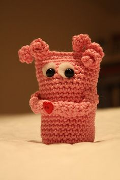 cute little monster. Babies would love to pull the pig tails. :)
