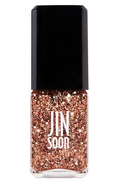 Pretty glitter nail polish | JINsoon