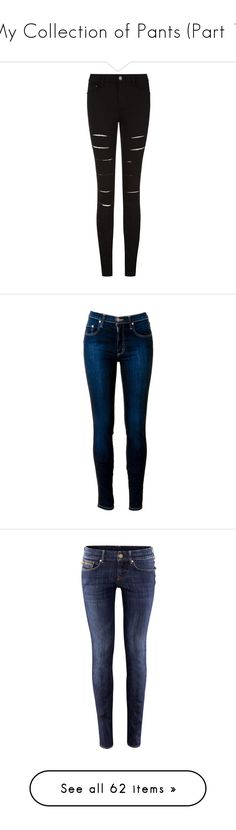 """""""My Collection of Pants (Part 1)"""" by hallaveryh ❤ liked on Polyvore featuring jeans, pants, bottoms, trousers, distressed skinny jeans, high waisted ripped skinny jeans, skinny jeans, high waisted jeans, skinny fit jeans and light purple"""