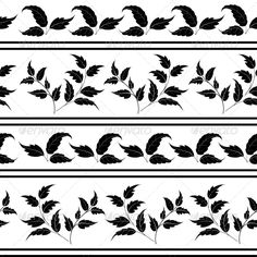 Seamless, Plants Silhouettes and Lines  #GraphicRiver         Seamless floral pattern: leaves, plants and lines, black silhouettes on white background.   Vector EPS 8 plus AI CS 5 plus high-quality Jpeg. Editable vector file, containing only vector shapes. No gradients. No transparencies.     Created: 9May13 GraphicsFilesIncluded: JPGImage #VectorEPS #AIIllustrator Layered: No MinimumAdobeCSVersion: CS5 Tags: abstract #art #background #contour #decorative #design #eco #fabric #flora…