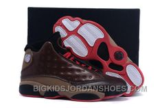 free shipping e2a6f 6fcaf Order 2015 Nike Air Jordan Xiii 13 Mens Shoes Black Brown Grey Red 2016  New, Price   95.00 - Big Kids Jordan Shoes - Kids Jordan Shoes - Cheap  Jordan Kids ...