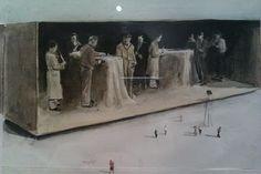 Art Sketches, Art Drawings, Luc Tuymans, Modern Art, Contemporary Art, David Hockney, Old Art, Figurative Art, Art Reference