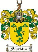 Sheridan Coat of Arms / Sheridan Family Crest