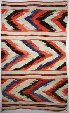 navajo blanket at medicine man gallery