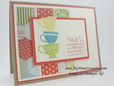 tea shoppe stampin up - Google Search