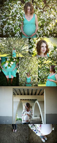 Beautiful natural light maternity photography